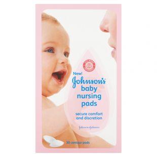 Johnson's Baby Nursing Pads - 30 Contour Pads