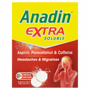 Anadin Extra - 12 Soluble Tablets