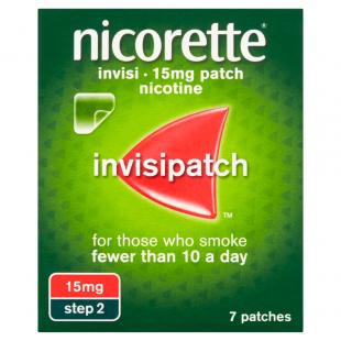 Nicorette Invisi 15mg (Step 2) – 7 Patches