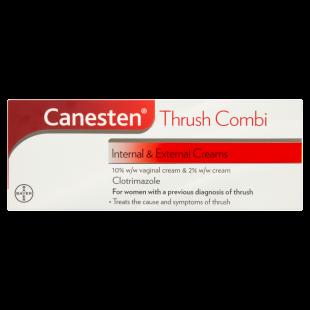 Canesten Thrush Combi Internal & External Creams