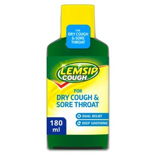 Lemsip Cough Syrup For Dry Cough – 180ml