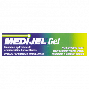 Medijel Gel for Common Mouth Ulcers - 15g