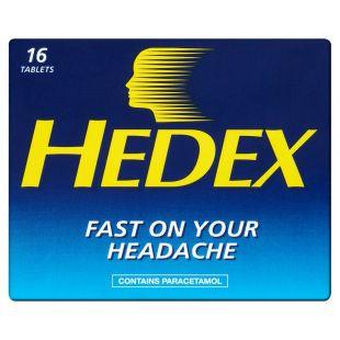Hedex - 16 Tablets