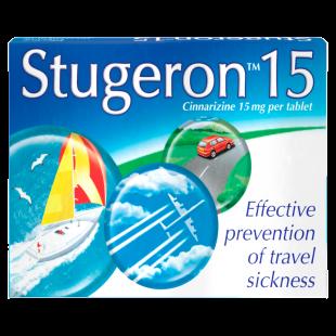 Stugeron 15mg (Cinnarizine) - 15 Tablets