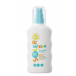 Solero Kids Ultra Sensitive Sun Spray SPF50+ – 200ml