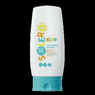 Solero Kids Ultra Sensitive Sun Lotion SPF50+ – 200ml