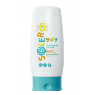 Solero Baby Ultra-Sensitive Sun Lotion SPF50+ – 200ml