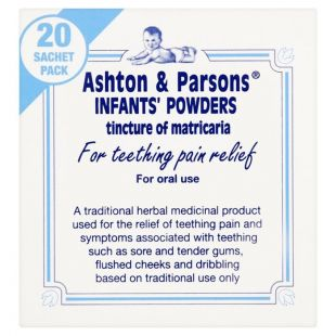 Ashton & Parsons Infant Teething Powders - 20 Sachets