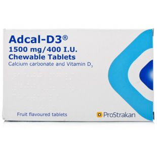 Adcal-D3 1500mg/400IU - 112 Chewable Tablets