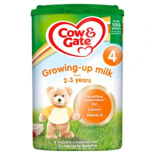 Cow & Gate Stage 4 Growing Up Milk Formula From 2-3 Years - 800g