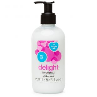 Lovehoney Delight Silky Water-Based Lubricant - 250ml