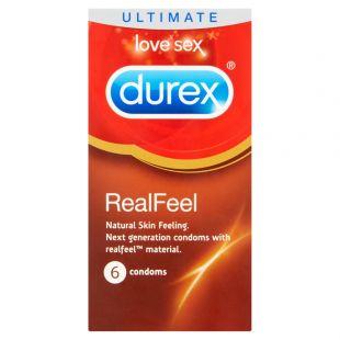 Durex Real Feel - 6 Condoms