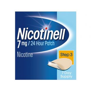 Nicotinell 7mg 24 Hour (Step 3) – 7 Patches