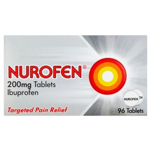 Nurofen 200mg Tablets - 96 Pack