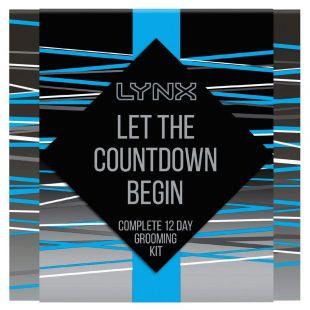 Lynx Countdown Calendar Gift Set
