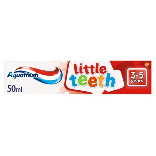 Aquafresh Little Teeth Fluoride Toothpaste 3-5 Years – 50ml