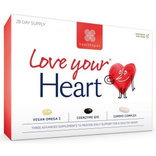 Healthspan Love Your Heart 28 Day Supply - 84 Capsules