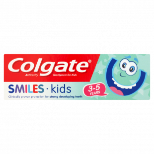 Colgate Smiles 3 To 5 Years Kids Toothpaste – 50ml