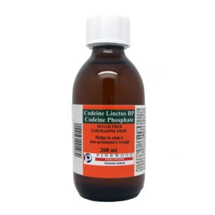 Codeine Linctus BP (15mg/5ml) Sugar Free - 200ml