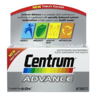 Centrum Advance Multivitamins - 60 Tablets