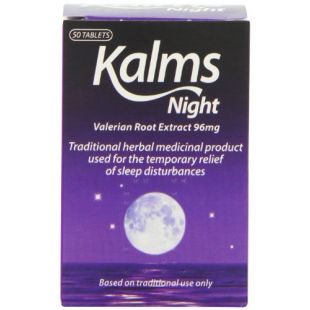 Kalms Night - 50 Tablets