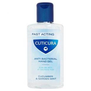 Cuticura Anti Bacterial Hand Gel Cucumber & Garden Mint 100ml