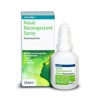 Numark Nasal Decongestant Spray – 15ml
