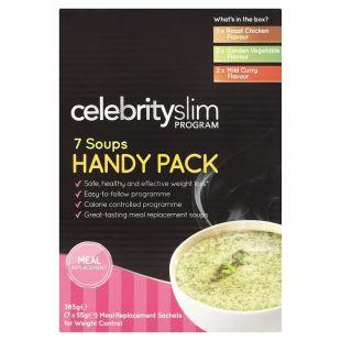 Celebrity Slim Soup Handy Pack - 7 Sachets