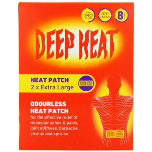 Deep Heat 2 Extra Large Heat Patches