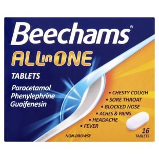 Beechams All In One – 16 Tablets