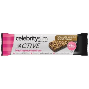 Celebrity Slim Active Caramel Crunch Meal Replacement Bar - 58g