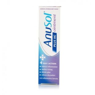 Anusol Plus HC Ointment – 15g