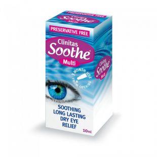 Clinitas Soothe Multi Eye Drops - 10ml