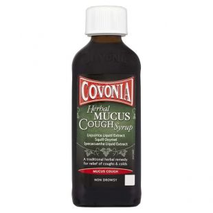 Covonia Herbal Mucus Cough Syrup – 150ml