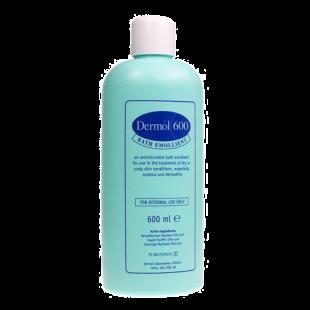 Dermol 600 Bath Emollient - 600ml