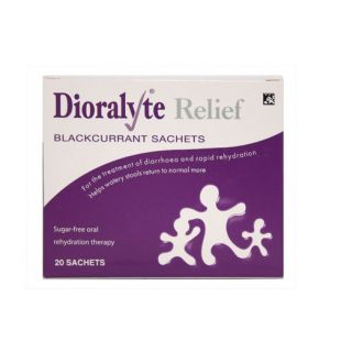Dioralyte Relief Blackcurrant Sachets – 20 Sachets