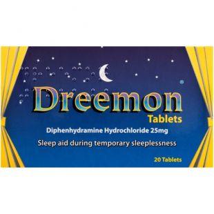 Dreemon Sleep Aid 25mg Tablets 20 Pack