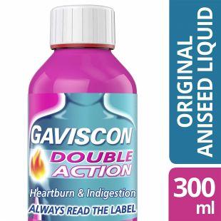 Gaviscon Double Action Liquid Aniseed – 300ml