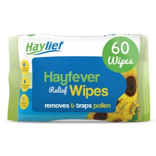 Haylief Hayfever Relief Wipes - 60 Wipes