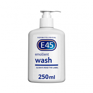 E45 Dermatological Emollient Wash Cream – 250ml