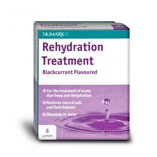 Numark Rehydration Treatment For Diarrhoea - 6 Sachets