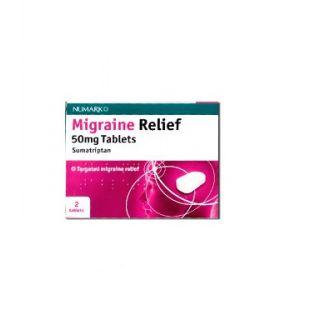 Numark Migraine Relief - 2 Tablets