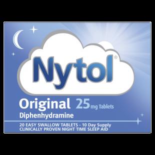 Nytol Original 25mg - 20 Caplets