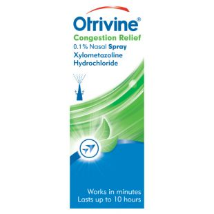 Otrivine Congestion Relief Nasal Spray 0.1% – 10ml