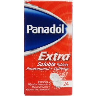 Panadol Extra Soluble - 24 Tablets