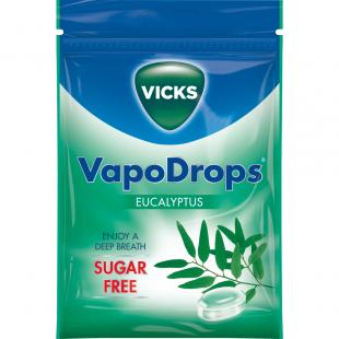 Vicks Vapodrops Sugar-Free Eucalyptus – 72g