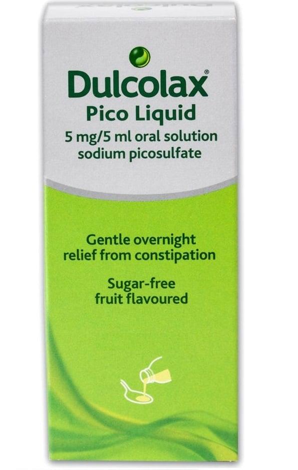 Dulcolax Pico Liquid Laxative Sodium Picosulfate 5mg 5ml