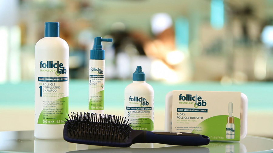 Follicle Labs Hair Stimulating Treatment Kit and Booster Kit