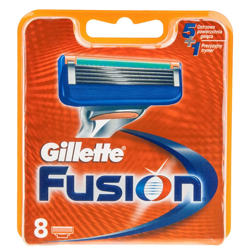 Gillette Fusion Manual Razor Blades Replacement 8 Pack