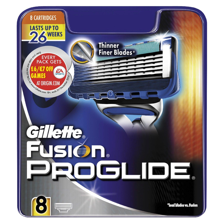Gillette Fusion ProGlide Manual Razor Blades 8